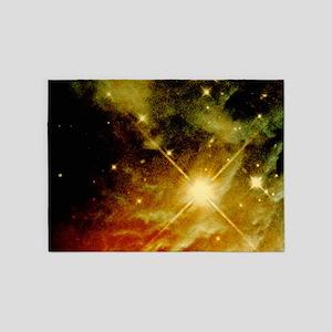 Star Burst 5'x7'Area Rug