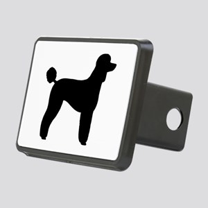 Standard Poodle Rectangular Hitch Cover