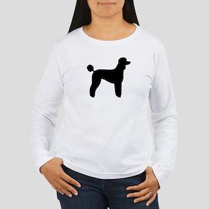 Standard Poodle Women's Long Sleeve T-Shirt