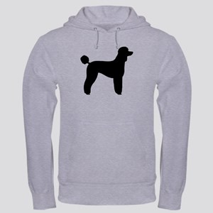 Standard Poodle Hooded Sweatshirt