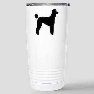 Standard Poodle Stainless Steel Travel Mug