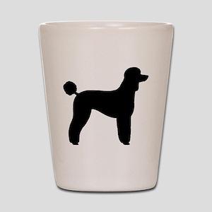 Standard Poodle Shot Glass