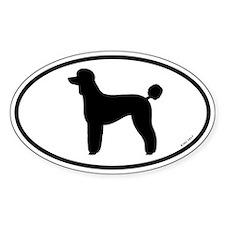 Poodle (Lamb Cut) Sticker
