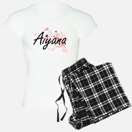 Aiyana Artistic Name Design Pajamas
