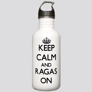Keep Calm and Ragas ON Stainless Water Bottle 1.0L