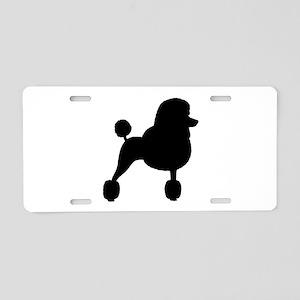 Standard Poodle Aluminum License Plate
