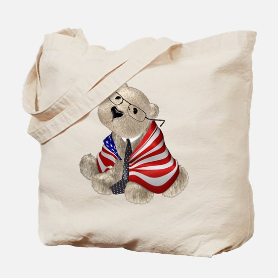 Stephen ColBEAR (double sided - no text) Tote Bag