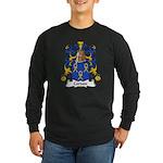 Cordon Family Crest Long Sleeve Dark T-Shirt