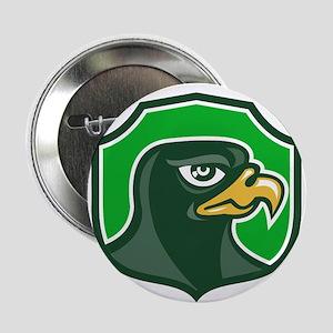 """Falcon Head Side Shield Retro 2.25"""" Button (10 pac"""