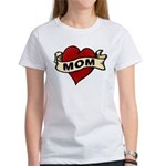 Mom heart tattoo Women's T-Shirt
