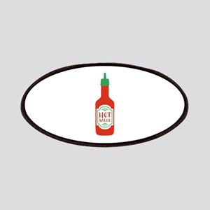 Hot Sauce Bottle   Patch