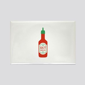 Hot Sauce Bottle   Magnets