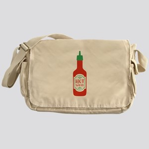 Hot Sauce Bottle  Messenger Bag