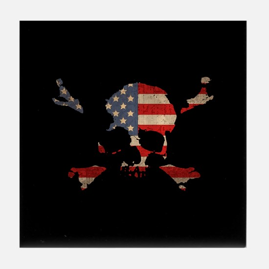 Scalawag USA Tile Coaster