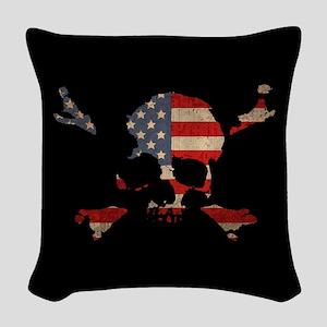 Scalawag USA Woven Throw Pillow