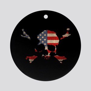Scalawag USA Ornament (Round)