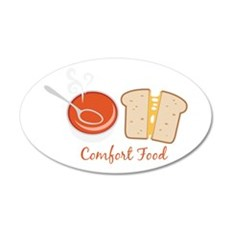 Comfort Food Wall Decal