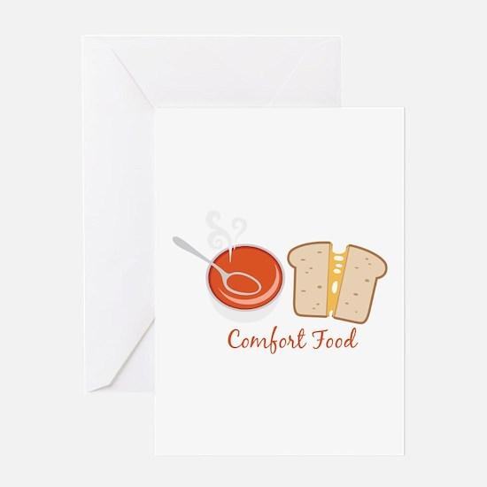 Comfort Food Greeting Cards
