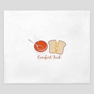 Comfort Food King Duvet