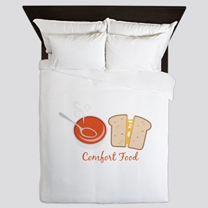 Comfort Food Queen Duvet
