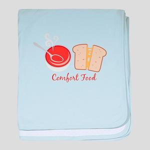 Comfort Food baby blanket