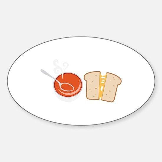 Soup & Sandwich Decal