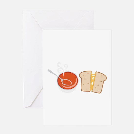 Soup & Sandwich Greeting Cards