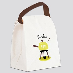 Fondue Canvas Lunch Bag