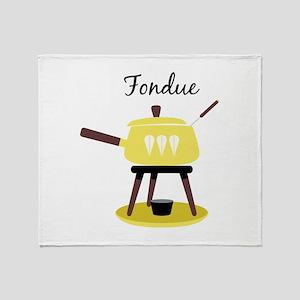 Fondue Throw Blanket