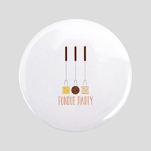 Fondue Party Button