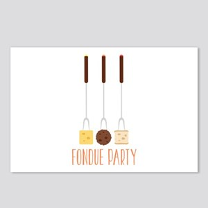 Fondue Party Postcards (Package of 8)