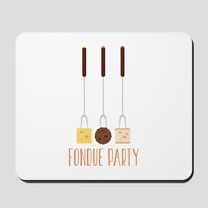Fondue Party Mousepad