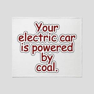 Coal Throw Blanket