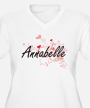 Annabelle Artistic Name Design w Plus Size T-Shirt