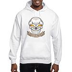 Rest in Peace Skull Tattoo Hooded Sweatshirt