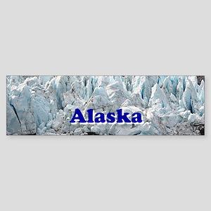 Alaska: Portage Glacier, USA Bumper Sticker