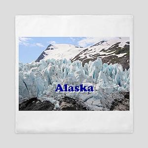 Alaska: Portage Glacier, USA Queen Duvet