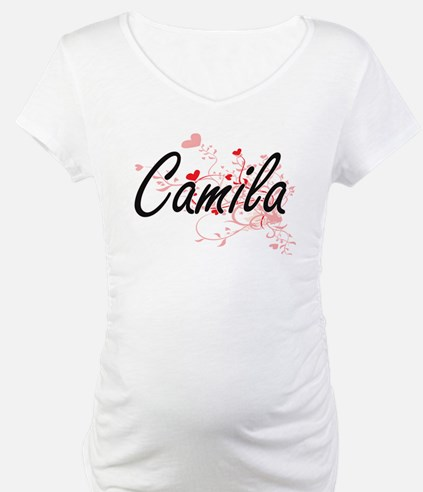 Camila Artistic Name Design with Shirt