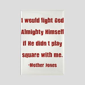 Mother Jones Rectangle Magnet