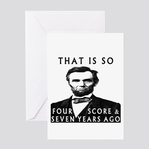 Abe Lincoln Greeting Cards