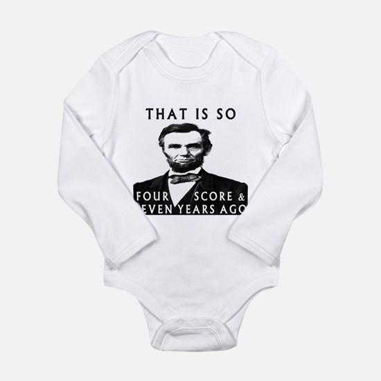Abe Lincoln Body Suit