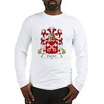 Clavier Family Crest Long Sleeve T-Shirt