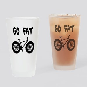 GO FAT-FAT BIKES Drinking Glass