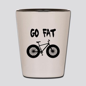 GO FAT-FAT BIKES Shot Glass