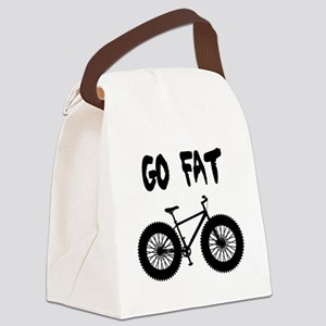 GO FAT-FAT BIKES Canvas Lunch Bag