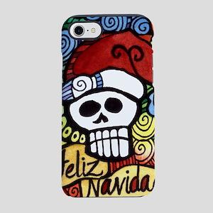 Day of the Dead Feliz Navida iPhone 8/7 Tough Case
