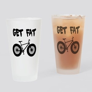 GET FAT-FAT BIKES Drinking Glass