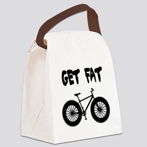 GET FAT-FAT BIKES Canvas Lunch Bag