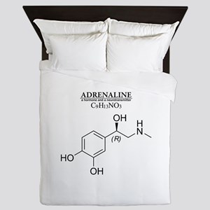 adrenaline: Chemical structure and formula Queen D