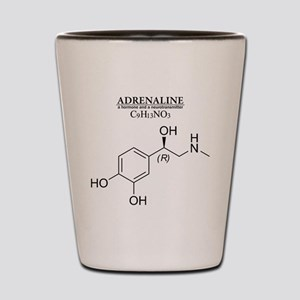 adrenaline: Chemical structure and formula Shot Gl